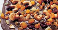 1 cup whole salted, roasted cashews 6 to 7 ounces very good semisweet chocolate, finely chopped 6 to 7 ounces very good bittersweet chocolate, finely chopped…