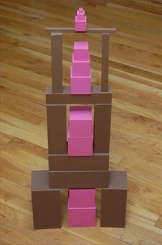 Brown Stair and Pink Tower extension