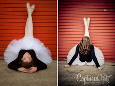Dance senior portrait