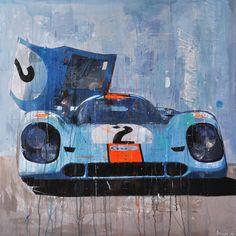 Automobile Art by Markus Haub
