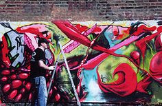 Blasting Red. #street #art