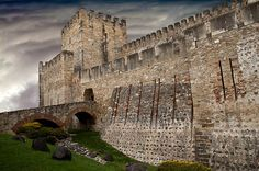 Sao Jorge Castle in Lisbon Portugal. Travel Photography. Lisbon Images. Lisbon Photos. Old World. Portugal. Wall Decor. Wall Art. Home Decor by Maxiwow