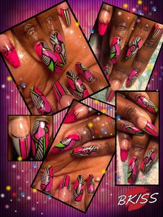 """Jazz it up why don't you? Abstract designs with a little """"pizazz""""..... lol. Try something different sometimes."""