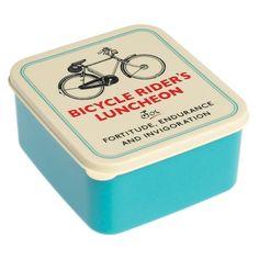 Voor alle fietsfanaten deze geweldige lunchbox om krachtvoer mee te nemen. De lunchbox mag in de vaatwas (bovenste lade) en niet in de microgolf.