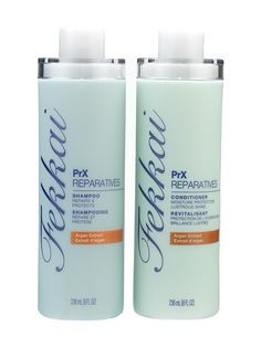Hair (shampoo and conditioner—damaged hair): The upside of having fried ends and a head full of bleach? You get to use Fekkai PrX Reparatives Shampoo and Conditioner