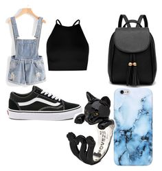 """LA trips"" by tommy-coma on Polyvore featuring Boohoo and Vans"
