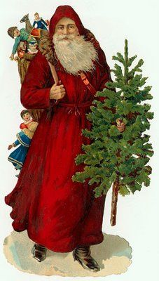 Santa and tree | http://about.me/terri_hermes |