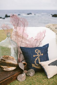 Nautical Wedding Inspiration from Rebecca Arthurs Photography  Read more - http://www.stylemepretty.com/destination-weddings/2013/09/13/nautical-wedding-inspiration-from-rebecca-arthurs-photography/