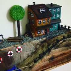 Driftwood art by Cleo