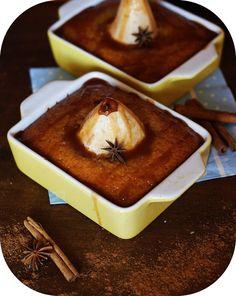 Cake automnal aux épices, miel et poires   Rdv aux mignardises