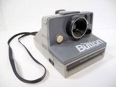 The Button Polaroid Camera