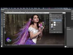 How to use the Fabric Fantasy Brush Pack for ParticleShop - YouTube