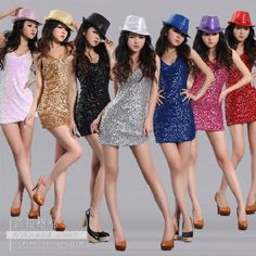 Cheap dresses dress up games, Buy Quality dress thigh directly from China dresses accessories Suppliers: Summer Dress 2014 7 Color Sleeveless Sequins Dress Fashion Party Dresses Sexy Costumes DS Ballroom Dance Dress&nbsp