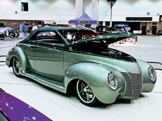 What would you commission a custom car genious (Chip Foose, .-What would you commission a custom car genious (Chip Foose, etc.) to build for you? Custom Muscle Cars, Custom Cars, Troy, Ford Convertible, Pt Cruiser, Cool Vans, Chip Foose, Ford Classic Cars, Hot Rides