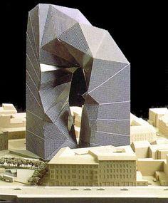 Max Reinhardt Haus Berlin by Peter Eisenman