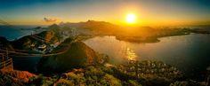 rio de janeiro sunset ii by scwl