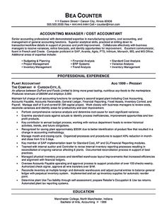sample resume accounting work experience http resumecareer accountant finance example professional best free home design idea inspiration