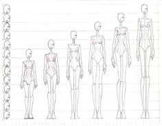 Fashion Figure Proportions by =Aiciel on deviantART