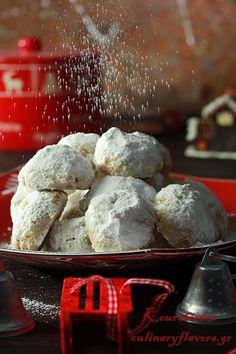 Christmas Buttery Cookies, Kourabiedes