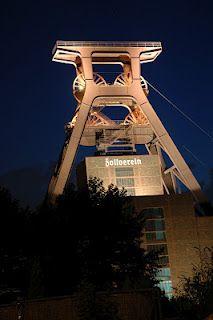 Das Ruhrgebiet erstrahlt in seinem berühmten Glanz.