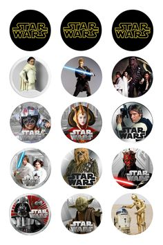 Whether you're a fan of the elegant necklaces from Naboo, or the beautifully uniform decorations of the Galactic Empire, this Star Wars Jewelry is Bottle Top Crafts, Bottle Cap Projects, Diy Bottle, Bottle Cap Magnets, Glass Magnets, Bottle Cap Jewelry, Bottle Cap Art, Star Wars Birthday, Star Wars Party