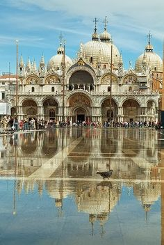 San Marco, Venice #studyabroad http://www.ahastudyabroad.org/