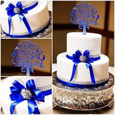 It's the most delicious day of the week- happy Wedding Cake Wednesday!  #Disney #cake #blue