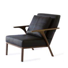 The STM Wishbone Armchair Walnut Finish #okha #furnituredesign #capetown