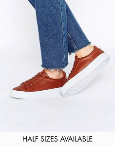 Image 1 of ASOS DALLINGTON Lace Up Sneakers
