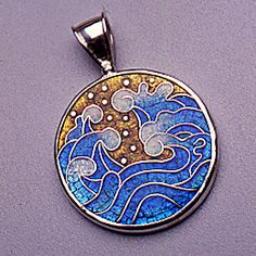 Cloisonne Enamel Jewelry by Thomas Terceira, via Behance