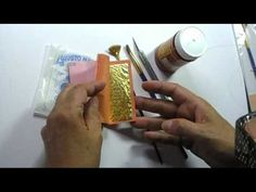 Gilding miniatures with gold leaf (part one).