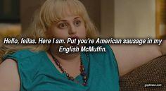 american sausage. english mcmuffin.