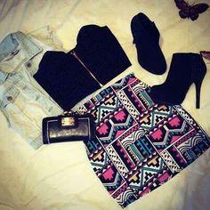 #vest #cottonskirt #blacktube