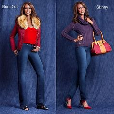 """Shop IMAN Global Chic """"Slip Into Slim"""" Curve Appeal Stretch Skinny Jean, read customer reviews and more at HSN.com."""