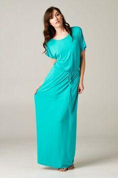 Rivera Maxi Dress- Aqua