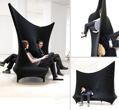Goth couch! 20 Cool And Creative Sofa Designs | Bored Panda