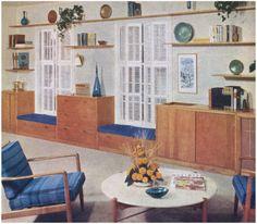 1950s Family Room.