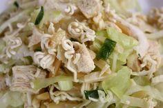 crunchy Asian slaw salad!