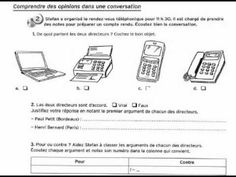 Delf A2 - Conversation au téléphone - YouTube Ap French, French Resources, France, Telephone, Conversation, Communication, Relationships, House, Fle
