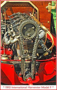 1910 International Harvester Classic Car Art&Design @classic_car_art #ClassicCarArtDesign