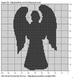 Gil Arte em Ponto Cruz: Anjos