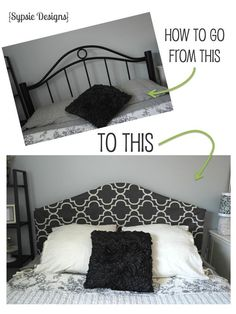 easy headboard cover, bedroom ideas, crafts, home decor, painted furniture, reupholster, window treatments