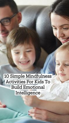 Mindfulness For Kids, Mindfulness Activities, Parenting Books, Kids And Parenting, Interactive Activities, Activities For Kids, Emotional Intelligence, Emotional Resilience, Self Confidence Tips
