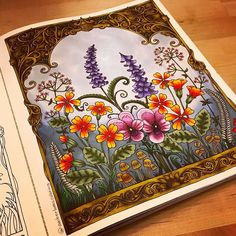Super love Inky and Ivy ❤️ . . . . #johannabasford #ivyandtheinkybutterfly #johannabasfordivyandtheinkybutterfly #ivy #coloring #adultcoloringbook #coloringbook #shinhanart #arttherapy #colortherapy #colouring #colouringbook #creativity #instaart #instagood #instadaily #flowers #floral #inkyivy