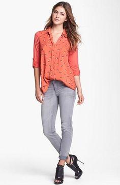 Favorite Top: Pleione Mixed Media Shirt--So easy & comfy!