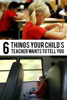 Great tips here from a teacher on how to ensure a successful school year