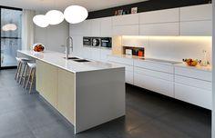 Keuken Maarten Smeets Interieur ontwerp  Architectuur Modern Hedendaags  Greeploos