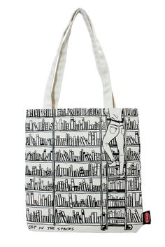 Strand Bookstore Tote Bag - Lost in the Stacks Topher MacDonald