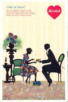 """""""Darf ich bitten?"""", Marte Graf, um 1920,"""