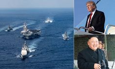 North Korea 'ready for war' after U.S. deployed warships | Daily Mail Online
